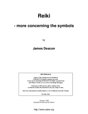 168801 Reiki More Concerning the Symbols