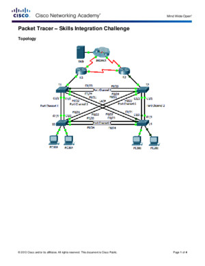 3312 Packet Tracer - Skills Integration Challenge Instructions (2)