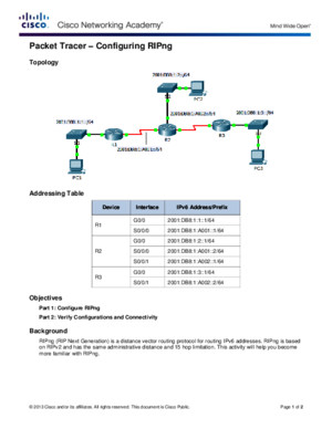 7323 Packet Tracer - Configuring RIPng Instructionspdf