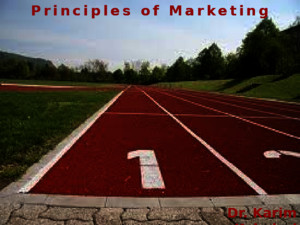 Principles of Marketing Ch 7