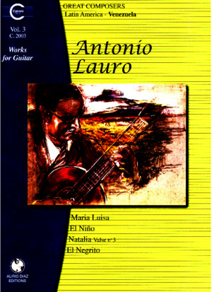 A Lauro - Works for Guitar Vol 3